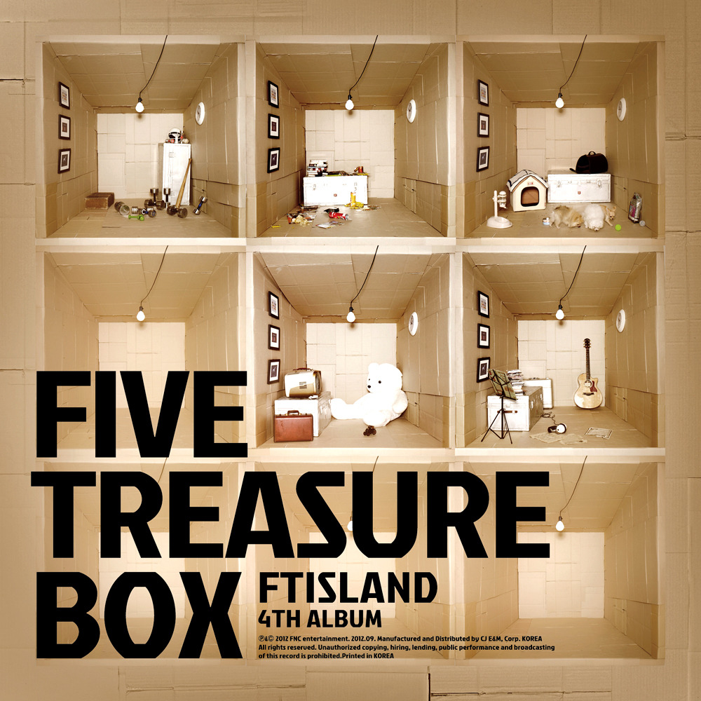 FIVE TREASURE BOX 앨범정보